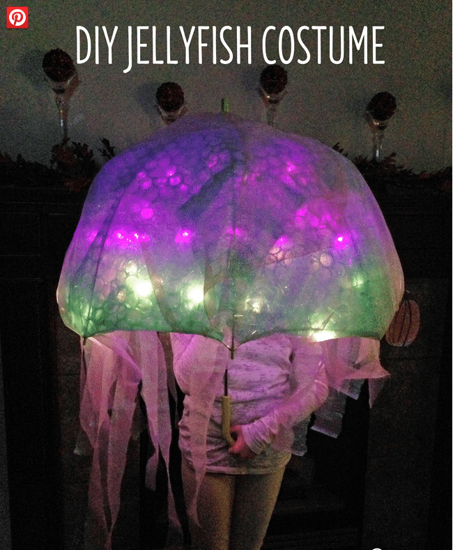 Jellyfish Costume Battery Operated Lights