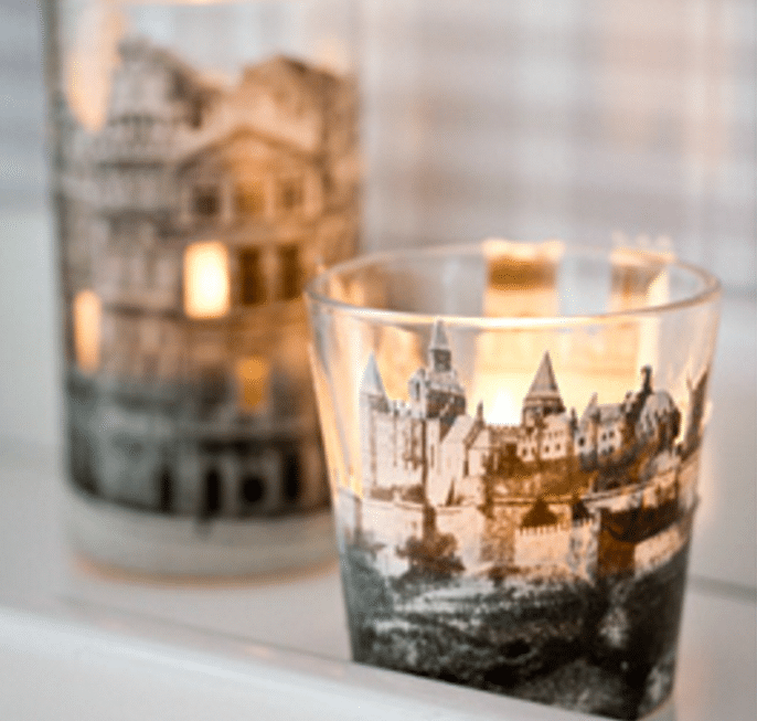 Recycled Book Candles