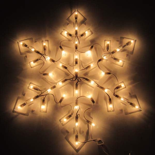 Snowflake Plaque Light