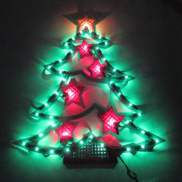 Christmas Tree Plaque Light