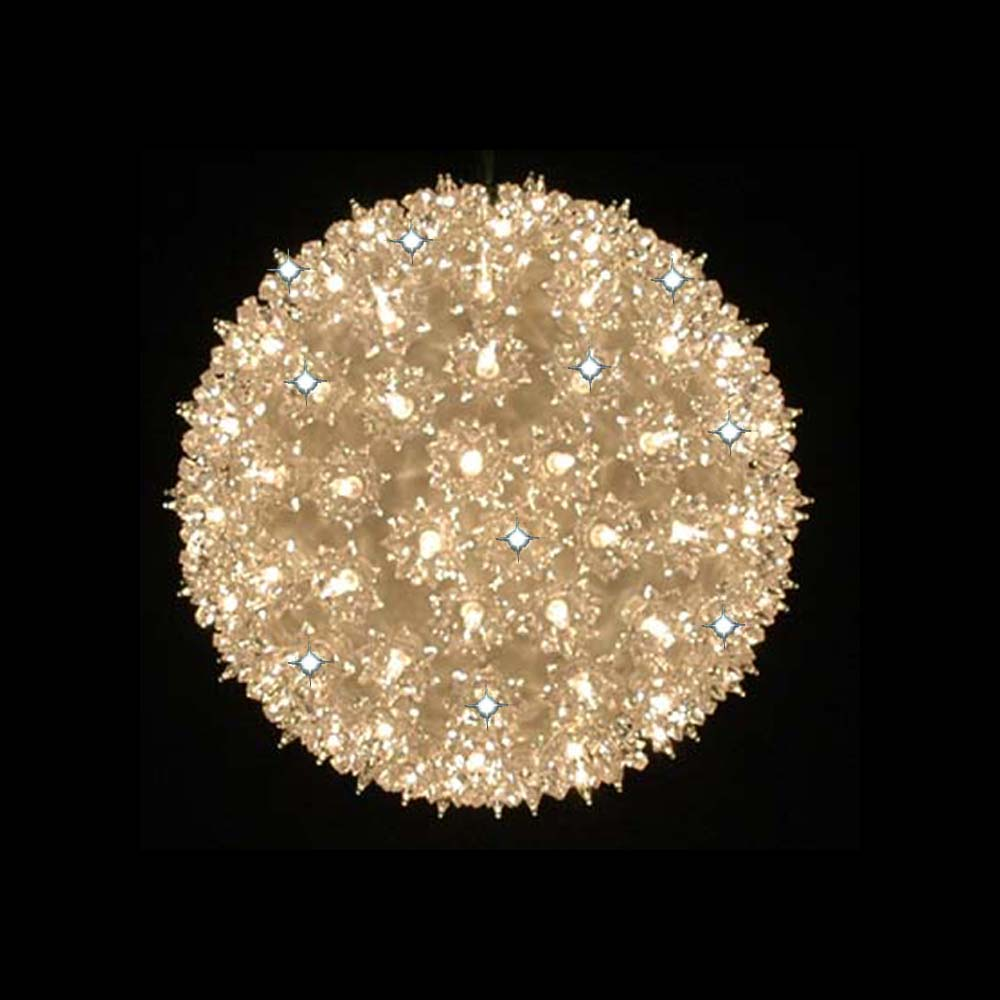 Twinkling Wedding Starlight Sphere Light