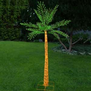Grapevine Lighted Palm Tree