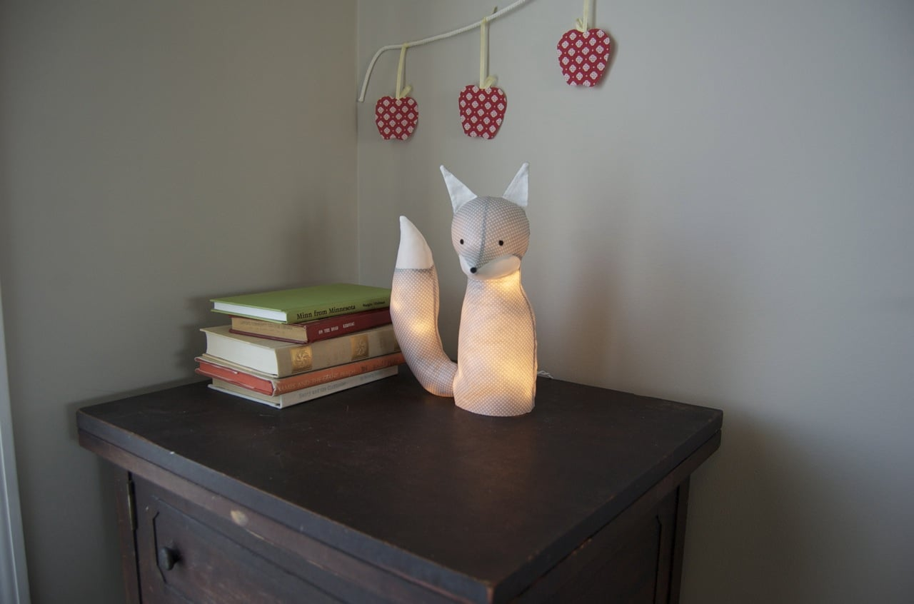 Stuffed Animal Lamp Light Project