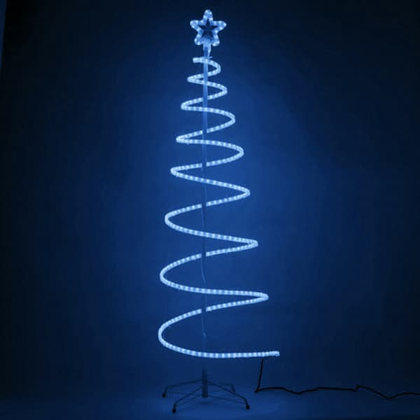 LED Spiral Rope Tree
