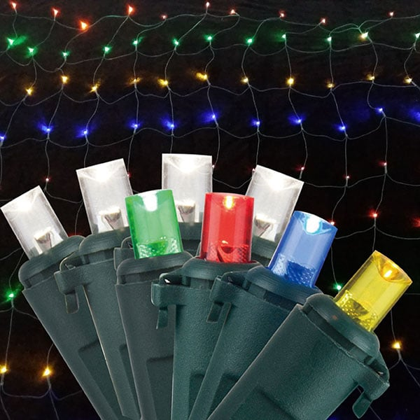 Multi Function Dual Color Net Lights