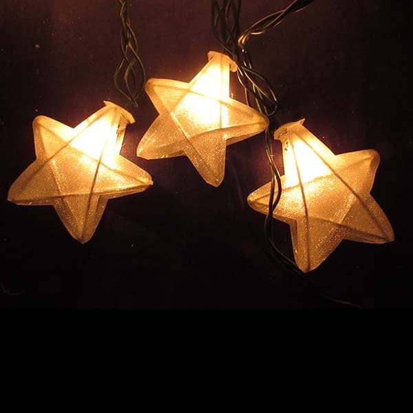 Mesh Star Lights String Set