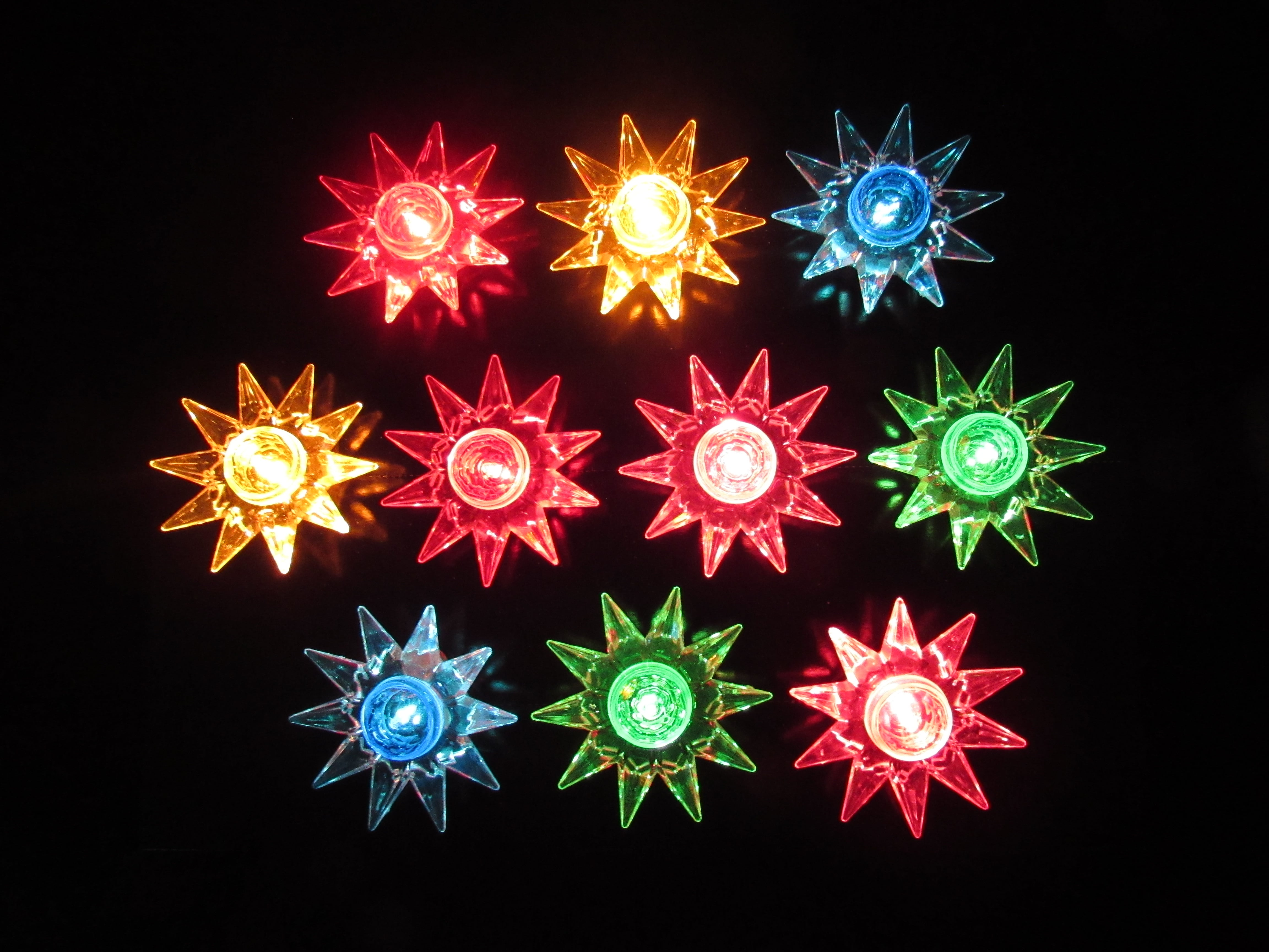 Multi Flower Lights String Set