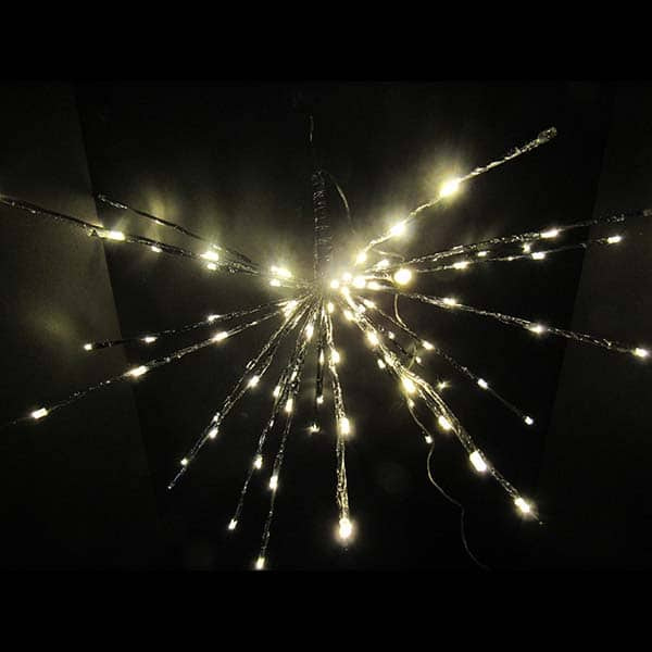 led twinkling starburst christmas lights