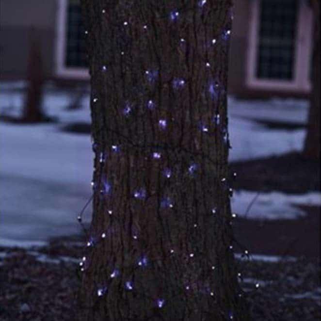 mini blue trunk lights