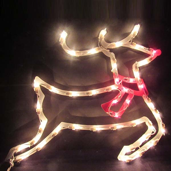 Reindeer Plaque Light