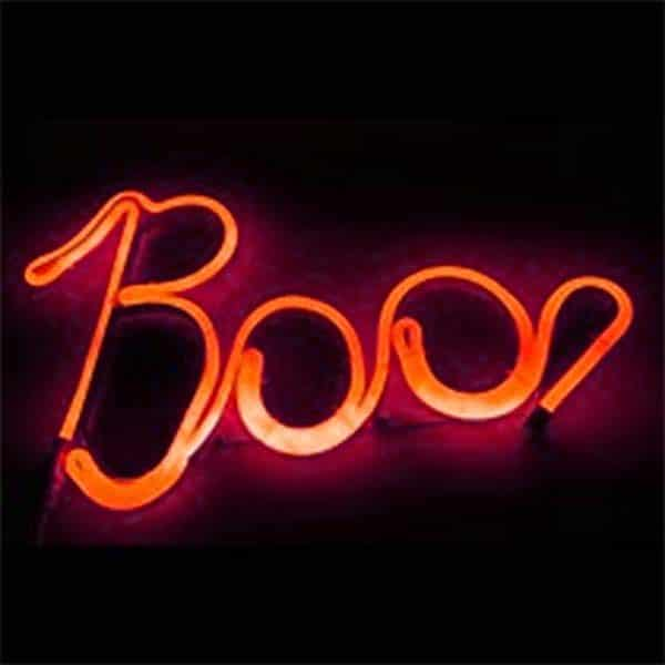 Neon Boo Light
