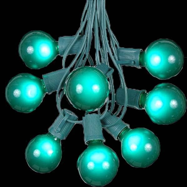 Green Globe Lights