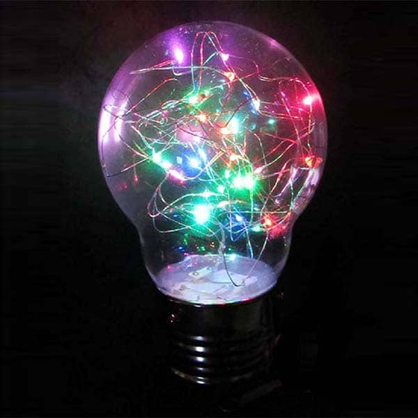 Battery Operated Fairy Light Bulb Decoration