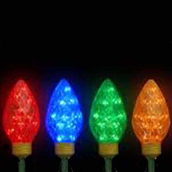 Giant LED C9 Bulb Stakes Light Decoration