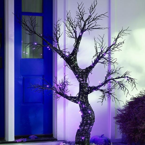 Spooky LED Halloween Tree