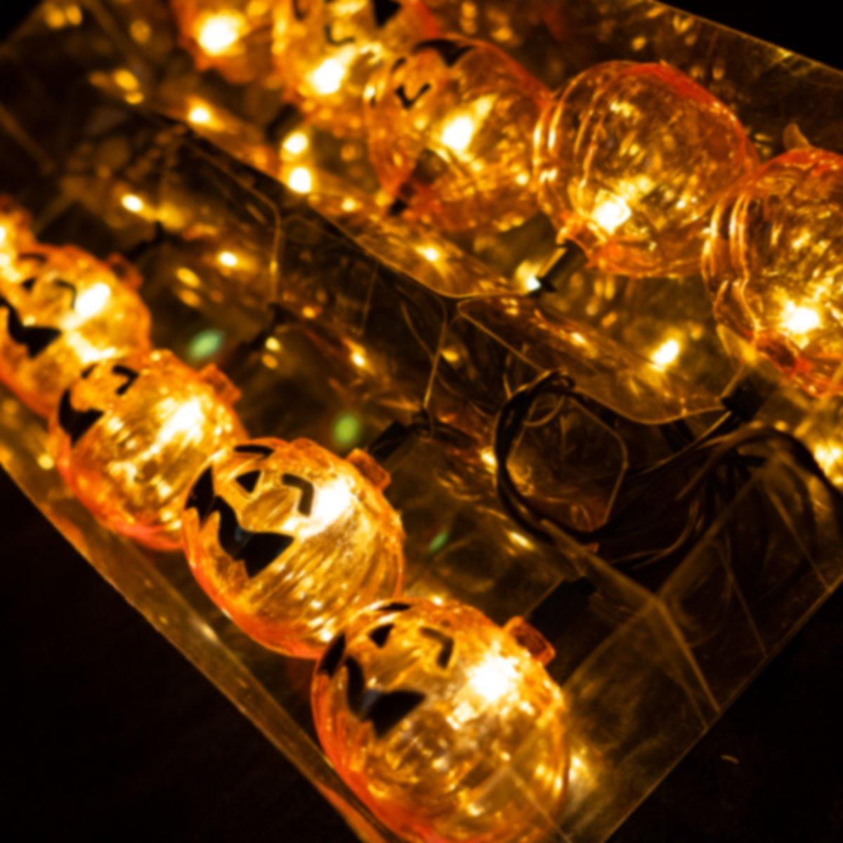 Halloween Pumpkin Lights